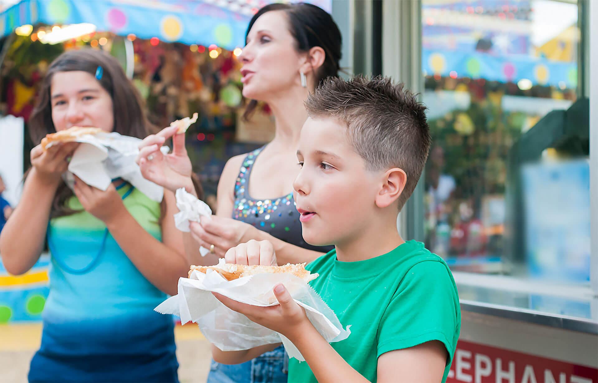 Palm Desert Street Fair Food